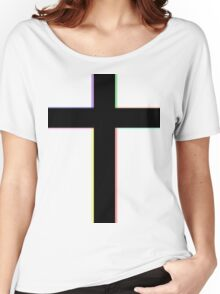 CROSS & COLORS Women's Relaxed Fit T-Shirt