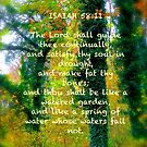 Watered Spring, Scripture Cards by NatureGreeting Cards ©ccwri