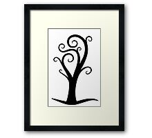 Early October Tree Framed Print