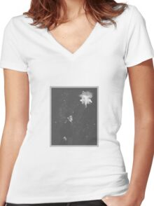 the doctor stargazing Women's Fitted V-Neck T-Shirt