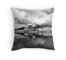 Eilean Donan Castle & Loch Duich Throw Pillow