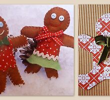 Gingerbreadmen by ©The Creative  Minds