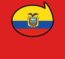 Ecuador Soccer / Football Fan Shirt / Sticker Womens Fitted T-Shirt