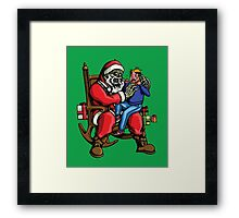 All I want for Christmas is BRAINS!!! Framed Print