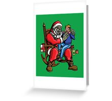 All I want for Christmas is BRAINS!!! Greeting Card