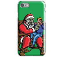 All I want for Christmas is BRAINS!!! iPhone Case/Skin