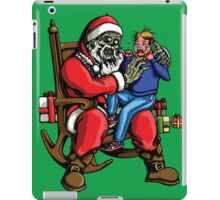 All I want for Christmas is BRAINS!!! iPad Case/Skin