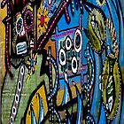 Surfing Samo - hommage to JM Basquiat by maxczertokpaint