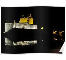 Eilean Donan Castle - Midnight  Poster