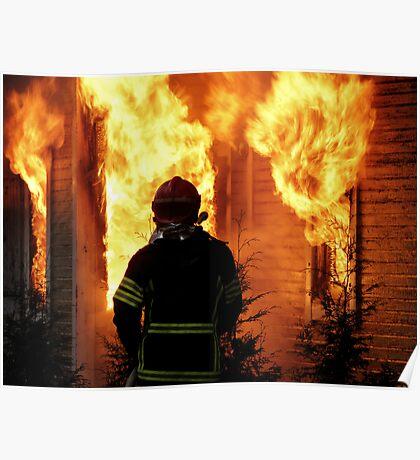 15.11.201212: Fireman at Work V Poster