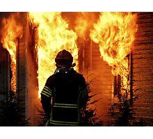 15.11.201212: Fireman at Work V Photographic Print