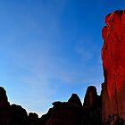 Arch NP Sunset - Utah by Michael Kannard