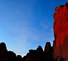 Arch NP Sunset - Utah by Michael Kannard