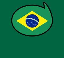 Brazil Soccer / Football Fan Shirt / Sticker Womens Fitted T-Shirt