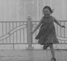 The Joy of Running in the Rain by Kortney Thoma