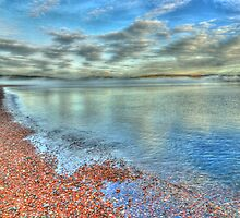 Shoreline and Sea by Steve
