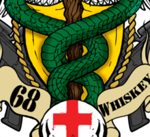 68 Whiskey Sticker