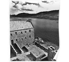 Eilean Donan Castle - The Courtyard  Poster