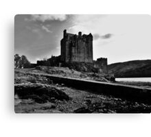 Eilean Donan Castle - From the Old Pier Canvas Print
