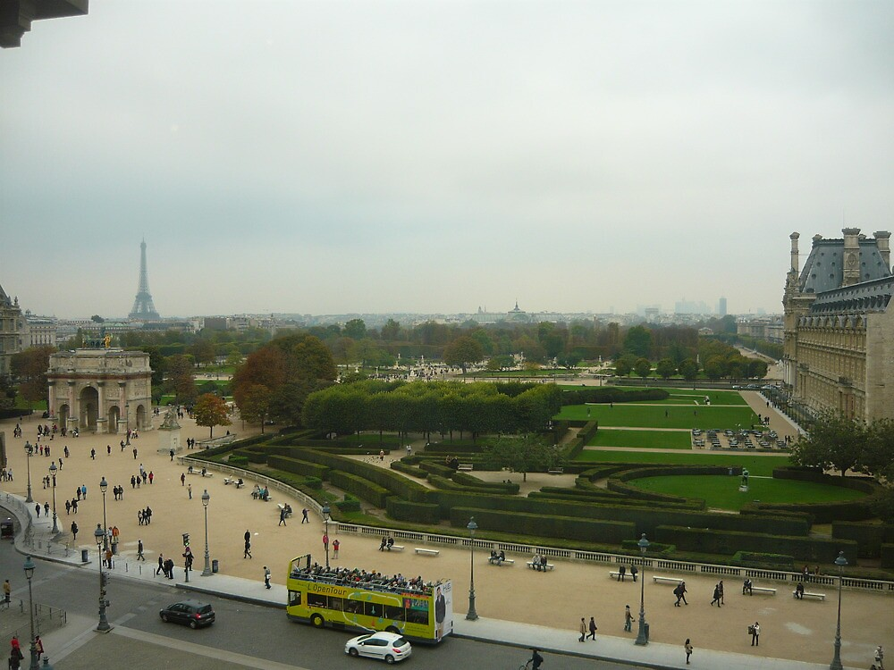 Paris - view from the Louvre by ChristineBetts