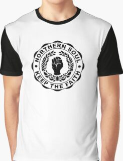 Classic Northern Soul Keep the Faith Graphic T-Shirt