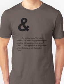 Ampersand (&) T-Shirt