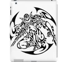 Zed (black) iPad Case/Skin