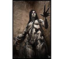 Cyberpunk Photography 016 Photographic Print