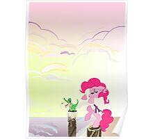 Karate Pie with BG Poster