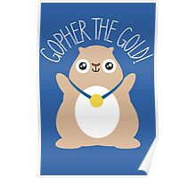 Gopher The Gold Poster
