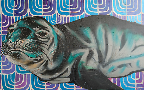 Sea lion  by AC-Paintings