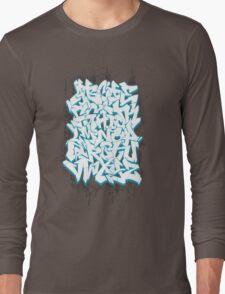 Graffiti Alphabet Long Sleeve T-Shirt