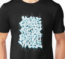 Graffiti Alphabet Unisex T-Shirt