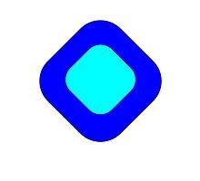 Blue Diamond by SimpleStickers