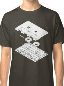 Exploded Cassette Tape  Classic T-Shirt