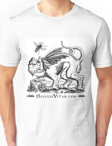 Medieval Monster Chases Wasp Unisex T-Shirt