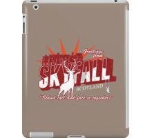 Greetings from Skyfall iPad Case/Skin