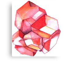 Garnet – January birthstone Canvas Print