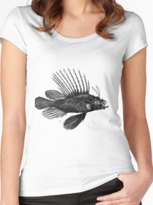 A Fish Called Spike Women's Fitted Scoop T-Shirt