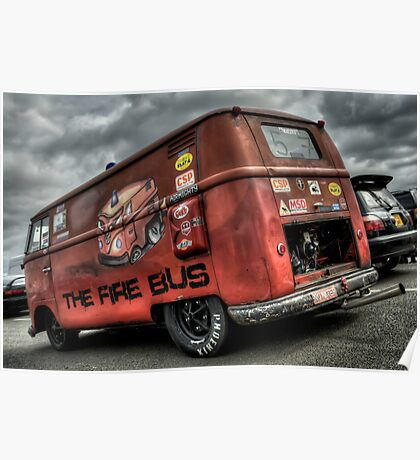 The Fire Bus Poster