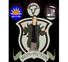 Meta-Fiction Gabriel Photographic Print