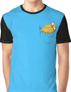 Adventure Time: Jake in Pocket Graphic T-Shirt
