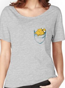 Adventure Time: Jake in Pocket Women's Relaxed Fit T-Shirt