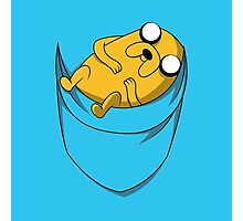 Adventure Time: Jake in Pocket Photographic Print