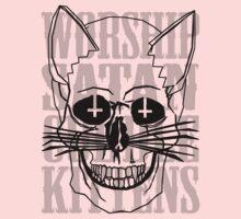 Worship Satan, Cuddle Kittens. Kids Clothes