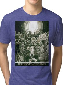 HP Lovecraft At The Movies Tri-blend T-Shirt