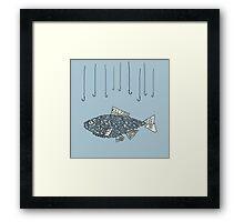 kill fish Framed Print