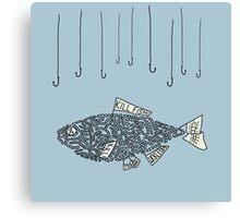 kill fish Canvas Print