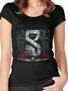 SCORPIONS STING TAIL Women's Fitted Scoop T-Shirt