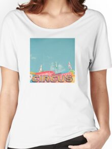 Circus Lights Women's Relaxed Fit T-Shirt